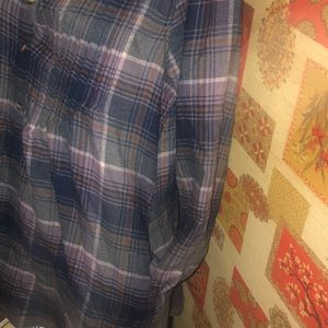 American Eagle Outfitters Tops - 🦅 A & E 🦅 Flannel Shirt Dress